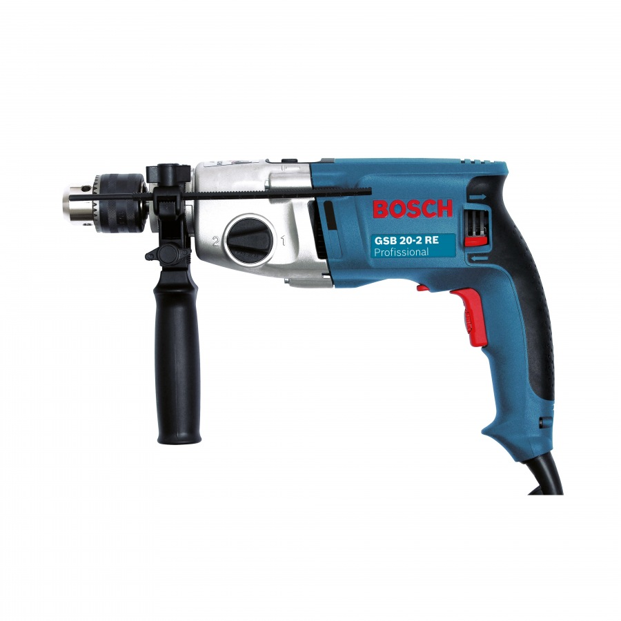 bosch gsb 20 2 re 20mm impact drill 2 speed. Black Bedroom Furniture Sets. Home Design Ideas