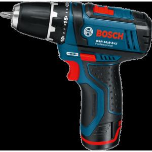 Bosch GSR 10.8-2 Li Professional Cordless Drill Driver 10.8v, Li-Ion