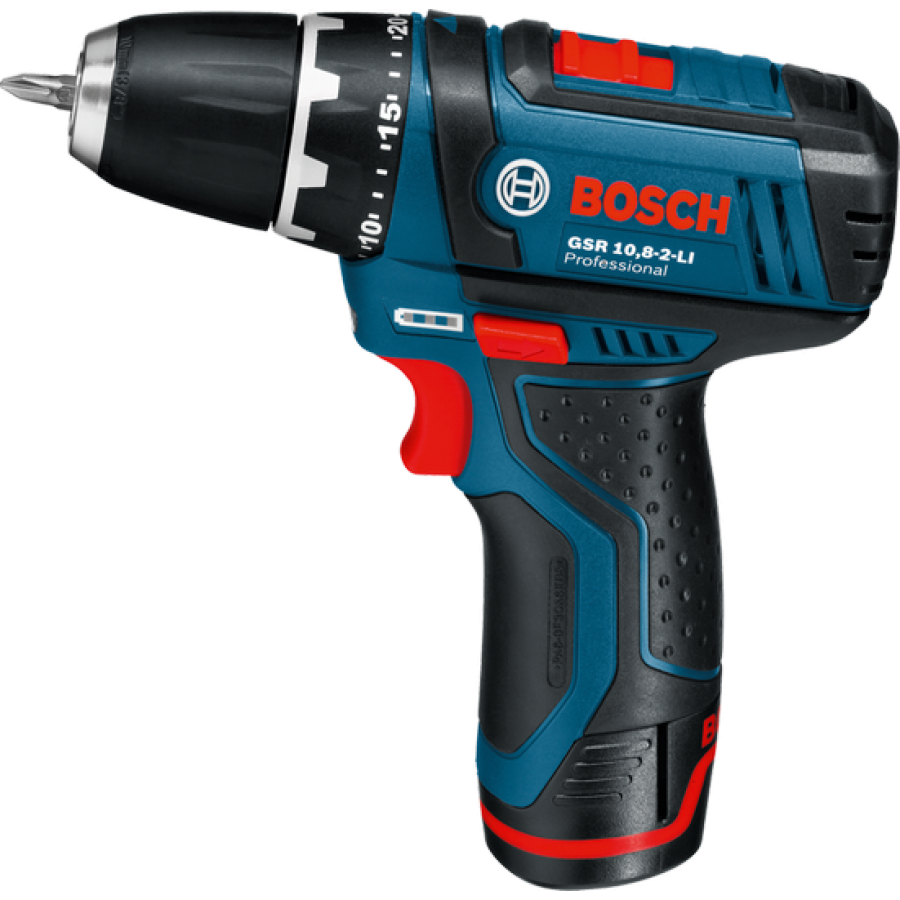 bosch gsr 10 8 2 li cordless drill driver li ion. Black Bedroom Furniture Sets. Home Design Ideas