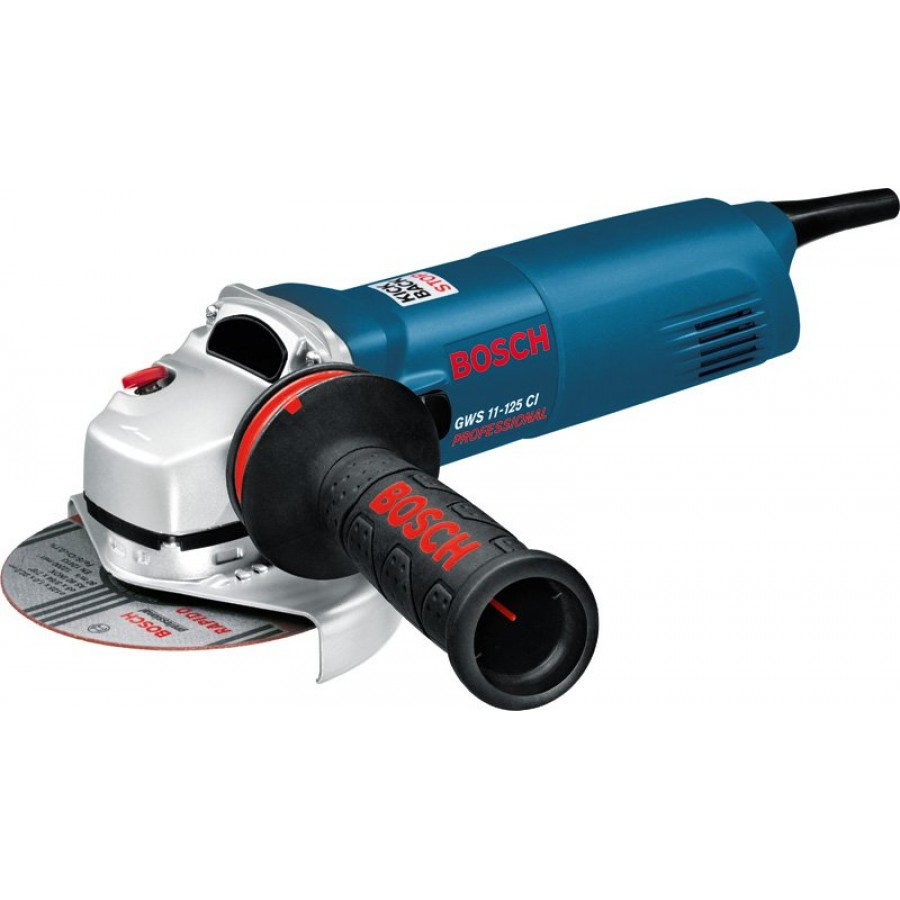 bosch gws 11 125 ci angle grinder 5inch 1100w. Black Bedroom Furniture Sets. Home Design Ideas