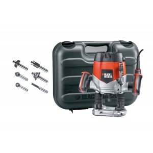 Black Decker KW900EKA Plunge Router Kit