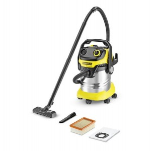 Karcher WD5 Premium Wet&Dry Vacuum Cleaner 1100w 25L SS container