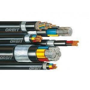 Orbit Aluminium Armoured Power Cable 2core 10sq.mm *1mtr